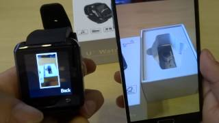 How to use U8 bluetooth watch BT notification app for Android and Apple