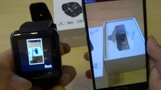 Як використовувати У8 Bluetooth годинник БТ повідомлень додаток для Android і Apple