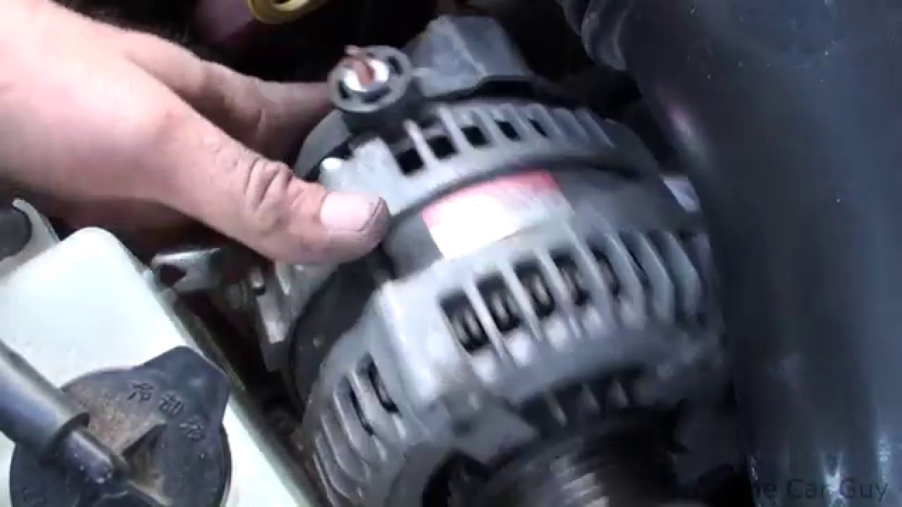 toyota tundra alternator replacement    youtube