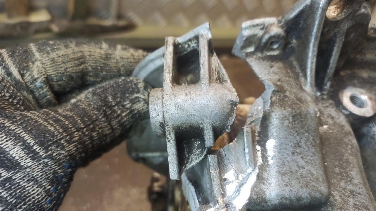 Восстановление блока двигателя авто после ДТП. Tig welding of aluminum