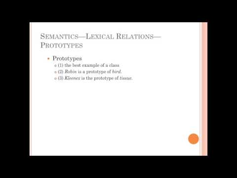 ASection 7 4 Lexical Relations