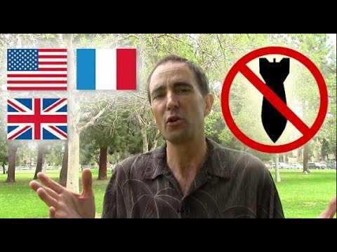 Americans British French Stand Against Illegal Attack on Syria