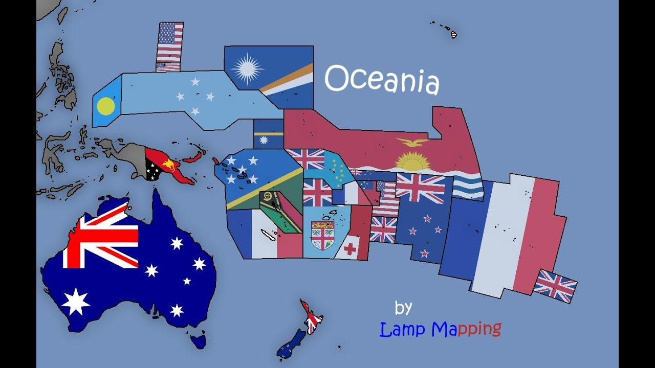 Flag Maps World Collab Episode 5 - Oceania (ft. P3pik) Map Oceania on south america, british isles map, indonesia map, africa map, papua new guinea, pacific ocean, near east map, southeast asia, middle east map, polynesia map, mexico map, canada map, australia map, french polynesia, marshall islands, asia map, solomon islands map, puerto rico map, north america, chile map, cook islands map, marshall islands map, japan map, eurasia map, solomon islands, americas map, europe map, united states map,