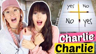 CHARLIE CHARLIE Challenge um 3Uhr nachts 😱😭 FUNKTIONIERT!| ViktoriaSarina