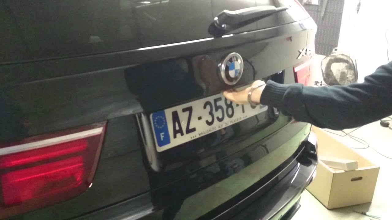 Bmw X5 Installation Hayon 233 Lectrique Youtube