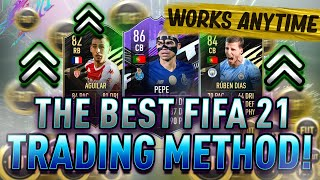 EASIEST WAY TO MĄKE COINS ON FIFA 21 ANY TIME! MAKE 100K RIGHT NOW! BEST FIFA 21 TRADING METHODS!
