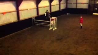 Mig og min pony der springer 1.20 :)