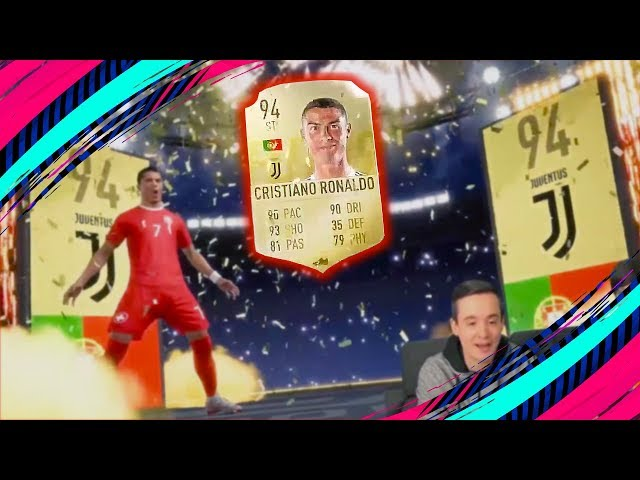 BEST FIFA 19 PACKS REACTION ? RONALDO, MESSI, ICONS AND OTHERS