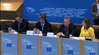 Press conference from 12 February, 2014 at the EU Parliament on the mistreatment of dogs in Romania