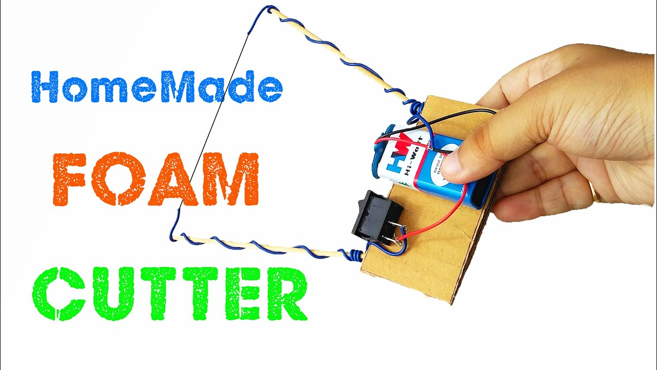 Electric Circuit With 9v Battery The Portal And Forum Of Wiring Sensor Alarm System For Maxq3210 Controller Schematic Diagram How To Make A Foam Cutter At Home Diy Styrofoam Connector Aa Batteries