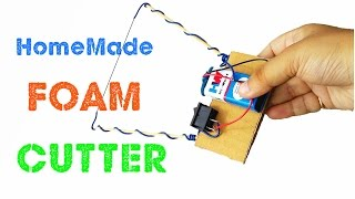 How to make a Foam Cutter at Home - DIY Styrofoam Cutter