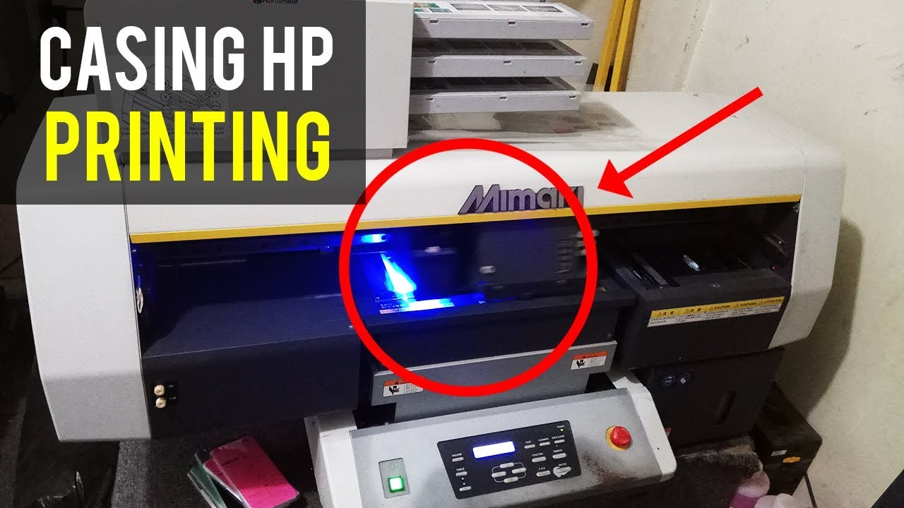 The Process Of Printing Custom Hp Casings With Mimaki Printers Youtube