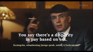Learn English with Movies - PEAKY BLINDERS #2 | Gender pay gap [English subtitles]