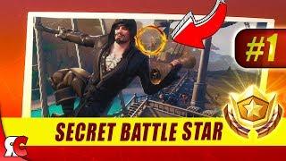 Fortnite | WEEK 1 Secret Battle Star Location (Season 8 Discovery Loading Screens)