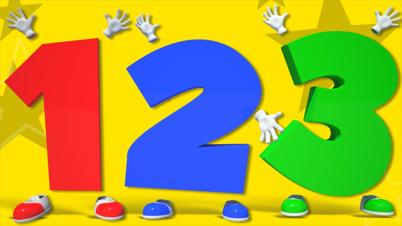 Numbers Song Learn Numbers 1 To 10 Number Rhymes For Toddlers By Kids Tv