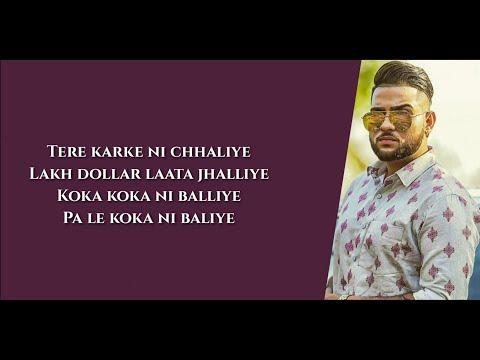 "Mexico Koka ""Aaja Mexico Challiye"" Lyrics ▪︎ Karan Aujla ▪︎ Proof ▪︎ Latest Punjabi Song 2021 thumbnail"