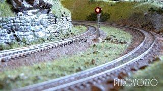Железнодорожный макет PAROVOZZO - Вид из кабины(Компактная железная дорога PAROVOZZO Домашний макет железной дороги. Простой в управлении, лёгкий в эксплуатац..., 2015-08-01T23:02:08.000Z)