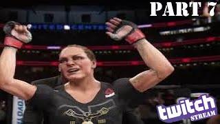 EA Sports UFC 3 Gameplay Walkthrough Part 7 | LIVE | PS4 Pro