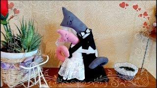 Свадебные игрушки - Влюбленные коты