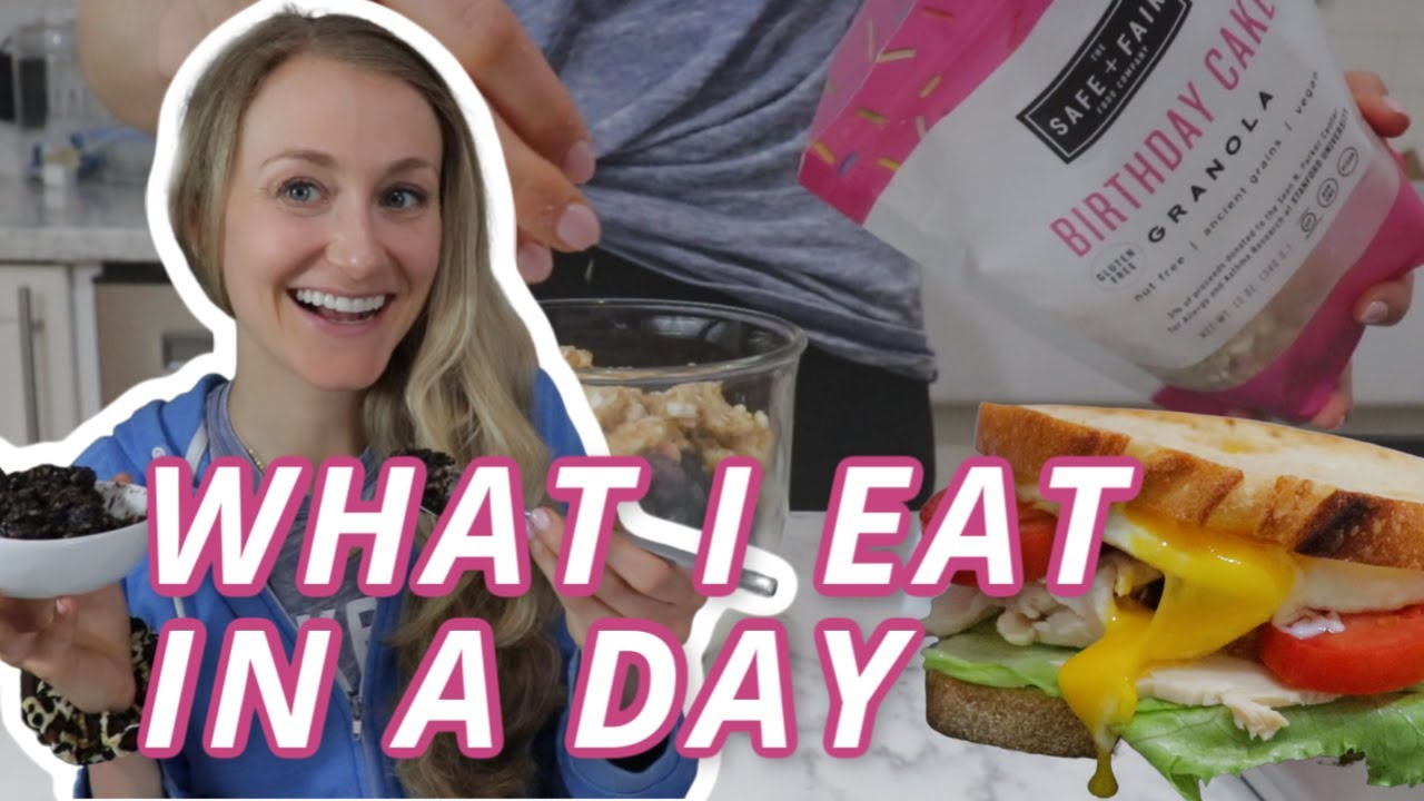 DONUTS & OREOS?! What I eat in a day no calorie counting!