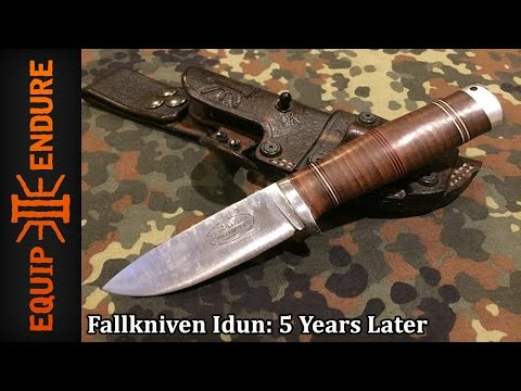 Fallkniven Idun NL5 Field Blade Review, 5 Years Later by Equip 2 Endure YouTube Cut