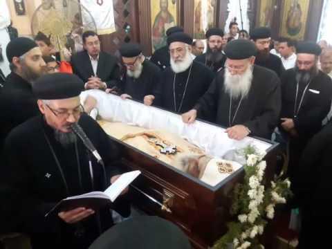 جنازة جناب الاب الحنون القمص مرقص كامل كاهن كنيسة مارجرجس برما