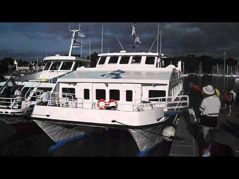 "Marine Ecology Trip to Isles de Glenan 17-08-2013- Part 1 ""Boarding the Boat""."