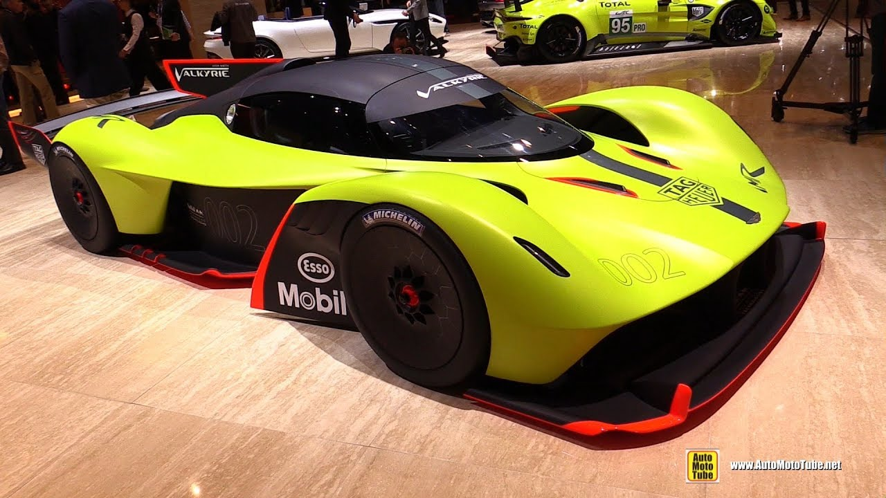 Aston Martin Valkyrie Amr Pro Walkaround 2018 Geneva Motor Show