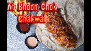 Weird shwarma at bhoon chok chakwal