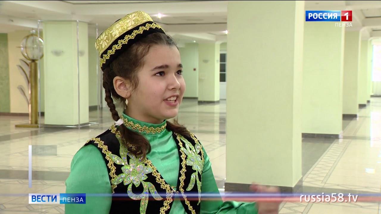 В Пензе более 300 детей приняли участие в фольклорном конкурсе «Тургай»