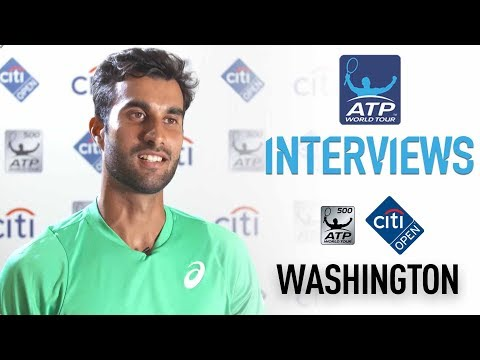 Bhambri Discusses Monfils Upset Washington 2017