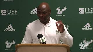 USF Football  - ECU Postgame Presser - Coach Strong