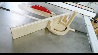 Wooden Miter Gauge For Table Saw