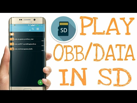 MOVE GAME DATA/OBB IN SD CARD IN ANY ANDROID DEVICE-SAVE INTERNAL STORAGE!?