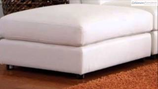 Quinn White Sectional Collection From Coaster Furniture