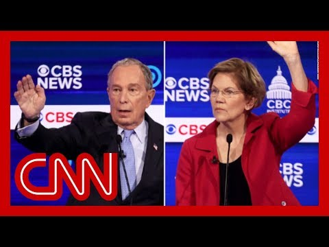 Warren blasts Bloomberg's