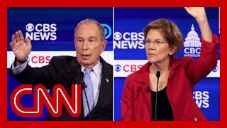 Warren blasts Bloomberg's past support of Lindsey Graham