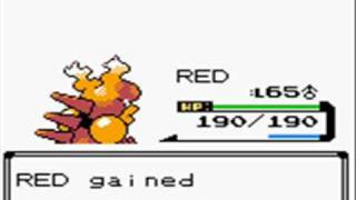 Pokemon Silver - Battle with Red