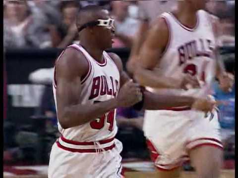 Chicago Bulls vs Phoenix Suns Game 4 1993 NBA Finals