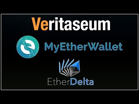 VERITASEUM - How to purchase Veritaseum with MyEtherWallet and EtherDelta Exchange