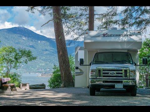 Motorhome trip 2014 - Canada & United States