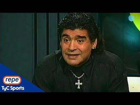 """Diego Maradona: """"Pensé que Jorge Valdano era buena persona"""""""