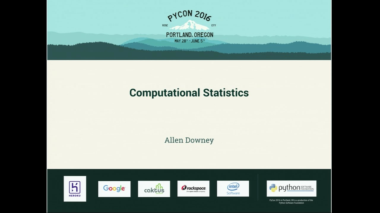 Image from Computational Statistics