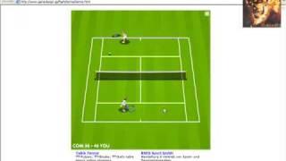 PC Tennis Game