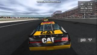 NASCAR Revolution (PC) Race #10 Gameplay (David Green) (Atlanta) (9 Laps)
