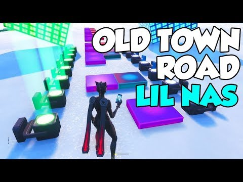 old town road lil nas x fortnite music block cover - happier fortnite music blocks code