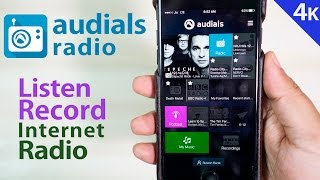 Best Internet Radio App for iPhones- Audials Radio (FREE) | Sponsored