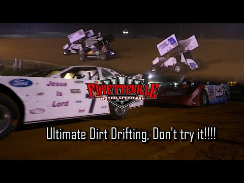 Carolina Sprint tour & I-95 Late Model Challenge Fayetteville Motor Speedway Racing