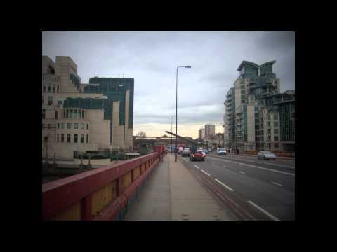 A walk from Tate Britain to Vauxhall Cross