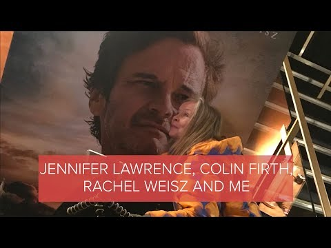 JENNIFER LAWRENCE, COLIN FIRTH, RACHEL WEISZ AND ME  VLOG 3